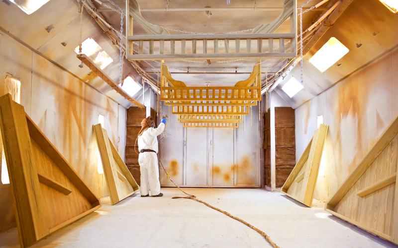 custom gazebos paint booth