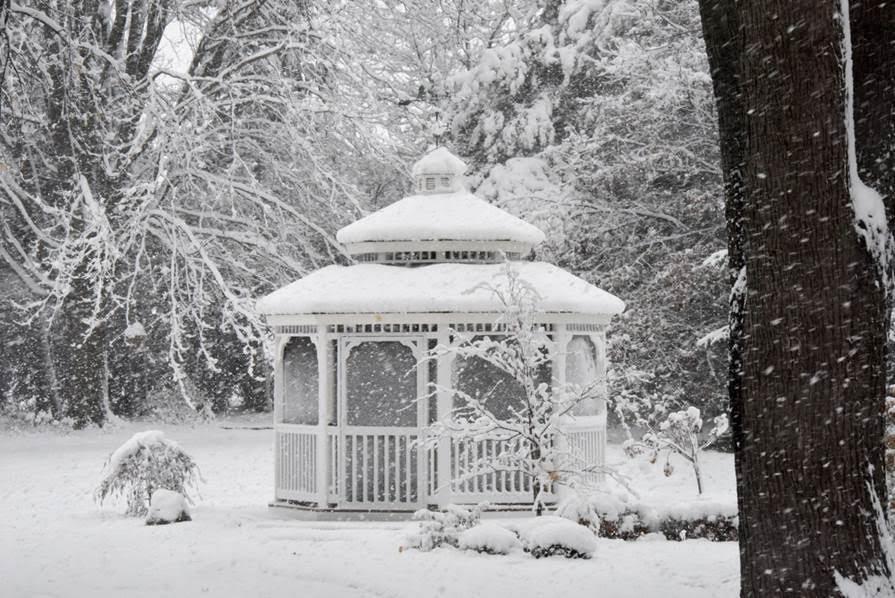 Colorado Winter Gazebo