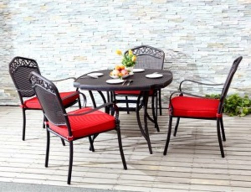 ebony red dining table