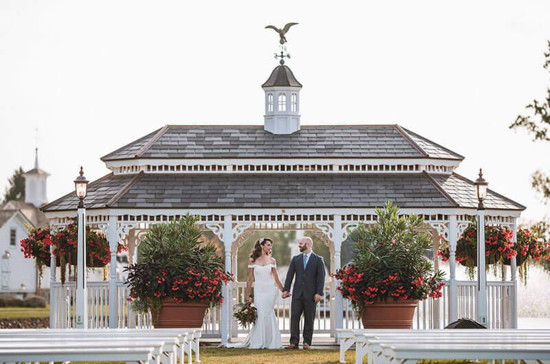 rectangular wedding gazebo