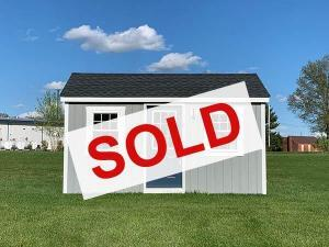sold small amish built tiny home