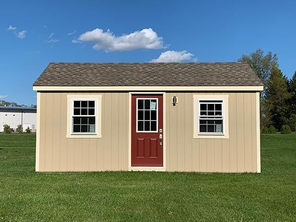 medium amish built home