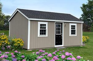 medium amish built house 12x20