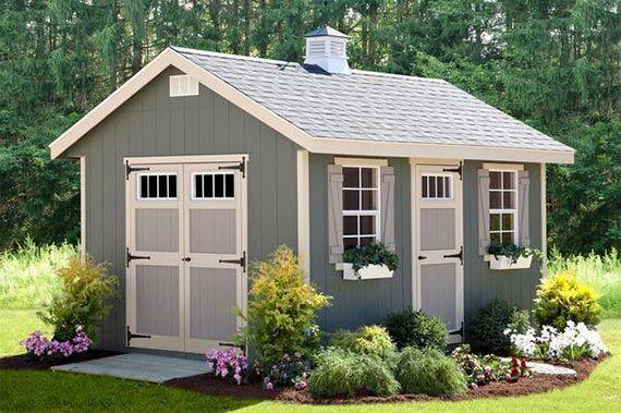 amish built sheds and garages