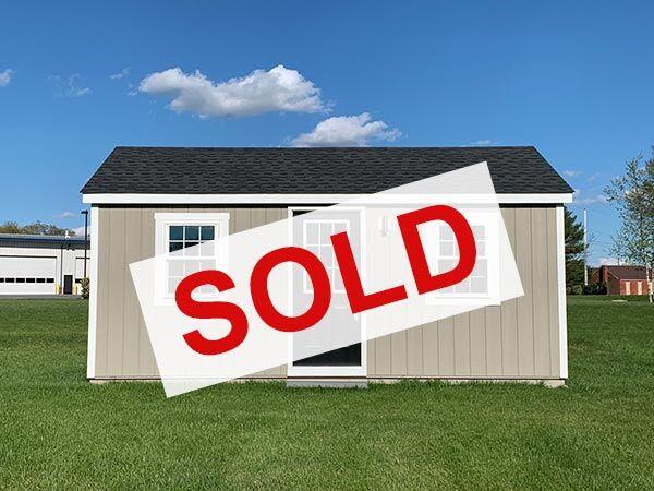 sold medium amish built home