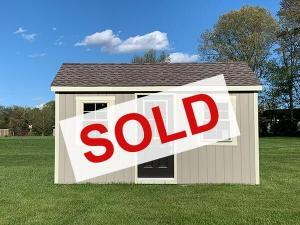sold small 10x16 amish built home